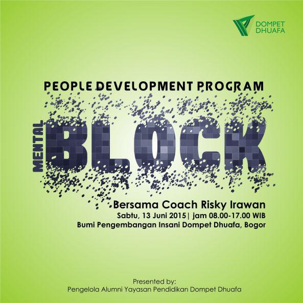mental block poster